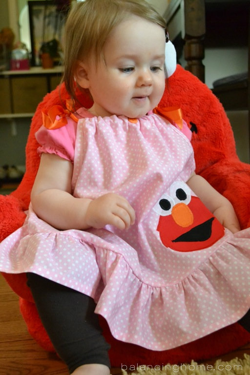 elmo first birthday party dress