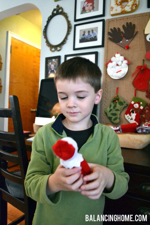 Saying Goodbye To Our Elf On The Shelf