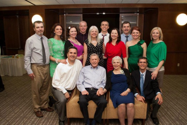 Family: Grandparents & Their 12 Children