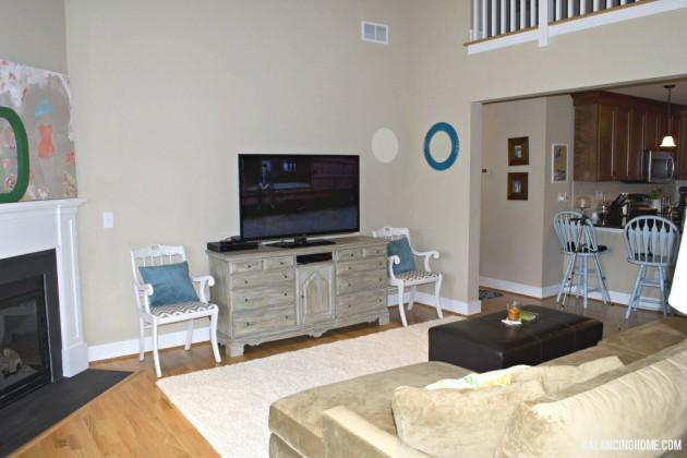 Living Room: Dresser to TV Console