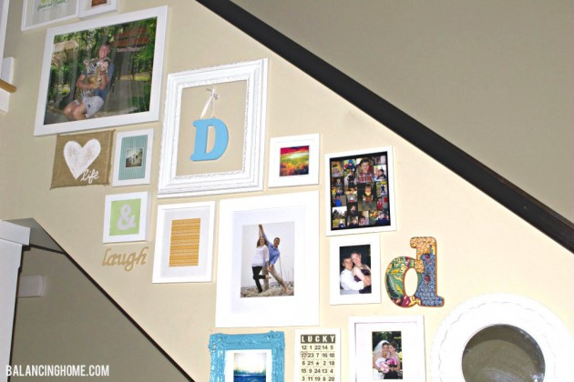 Thrifty Gallery Wall
