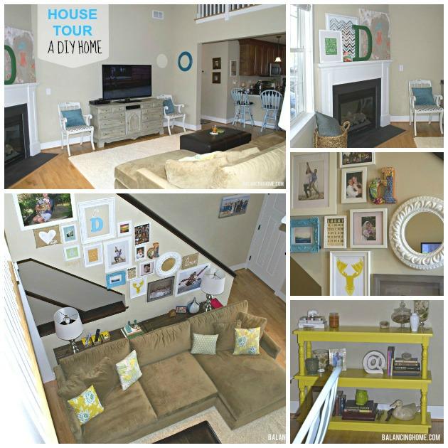 House Tour: #DIY Home on a #Budget
