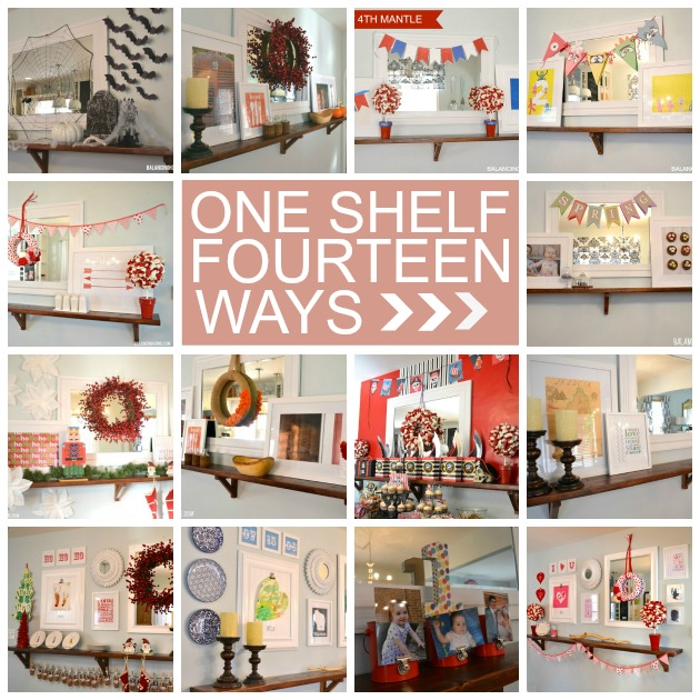 ONE-SHELF-FOURTEEN-WAYS
