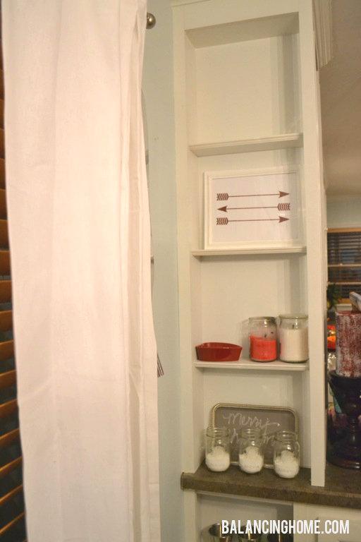 Before Shelf Vignette