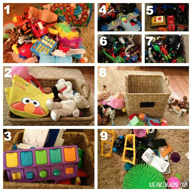 #40bags#40days- Living Room Toys