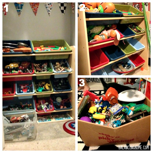 #40bags#40days- Kid Closet Before