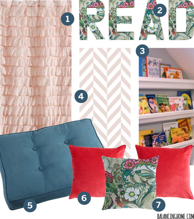Closet to Reading Nook Mood Board #biggirlroom