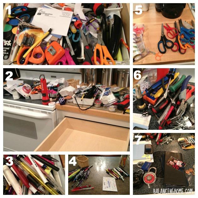 #40bags#40days- Junk Drawer
