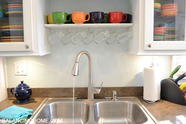 Moen Kiran Spot Resist One Handle Pulldown Kitchen Faucet #MoenDIYer
