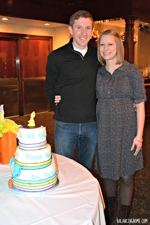 Oh, The Places You Will Go Baby Shower - Cake