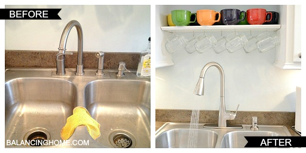 Our Brand Spankin\' New Moen Faucet - Balancing Home With Megan Bray