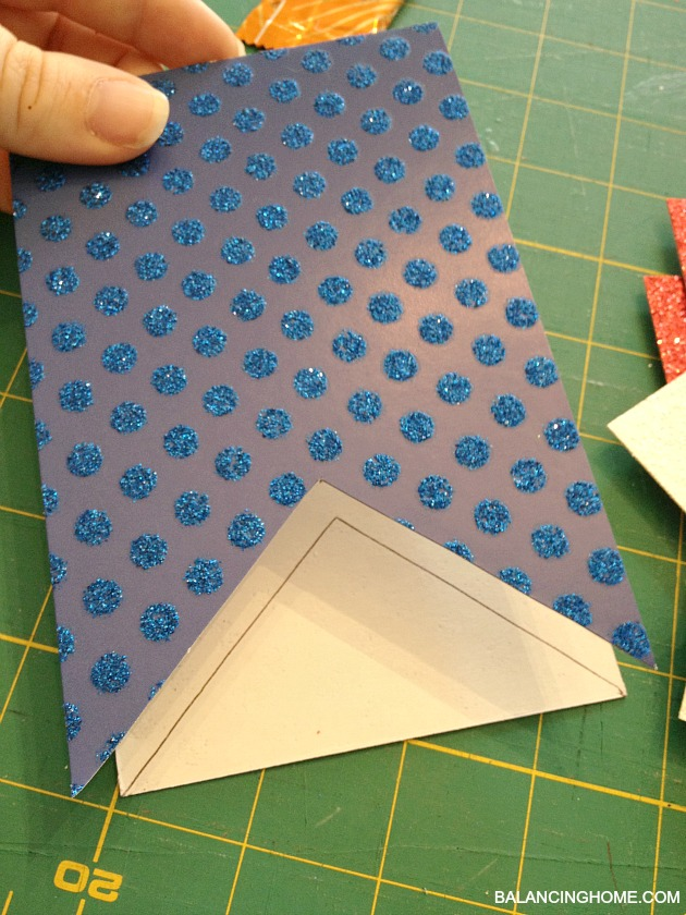 How to make paper pennant bunting
