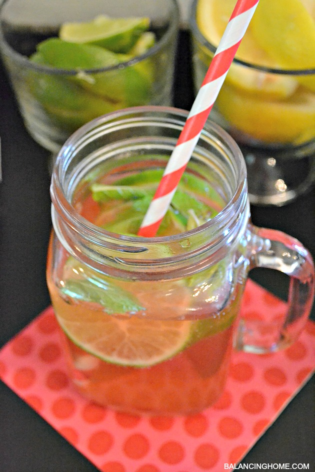 """The Lorina"" A fresh summer drink"