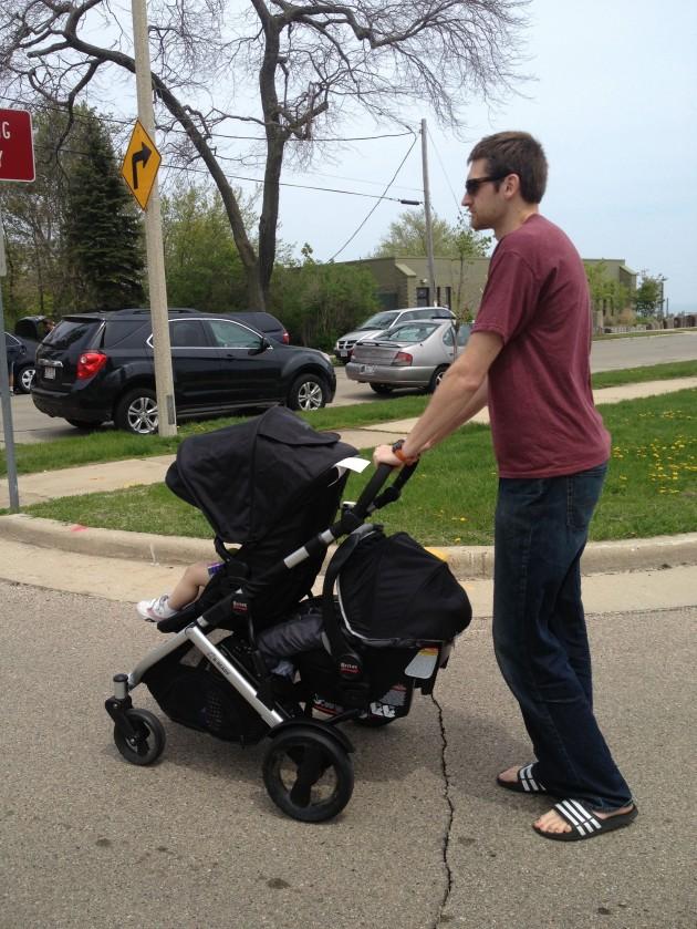 Britax BReady Stroller Giveaway