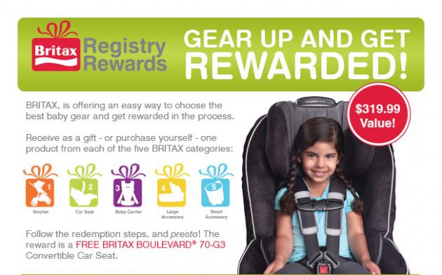 Britax Rewards Program