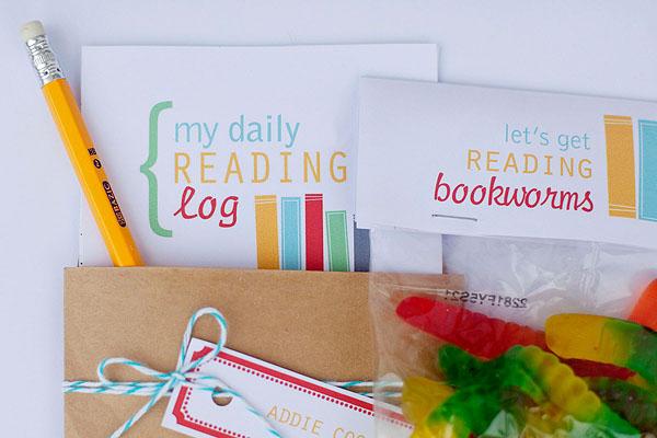 Back to School Reading Log Printable