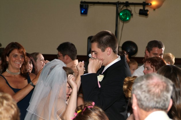 Busting a move at my wedding
