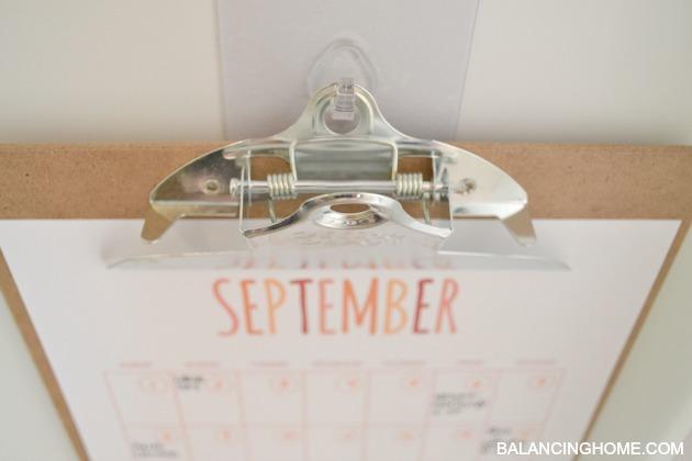 calendar printable and reusable hooks