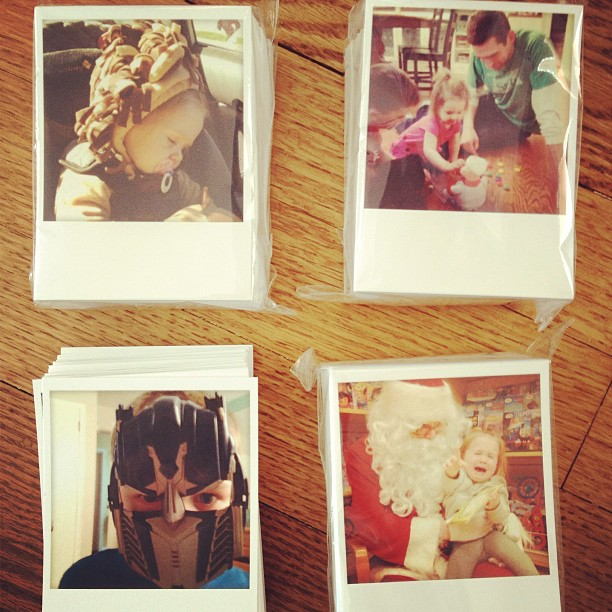 Instagram photos in 3x4 for Project Life