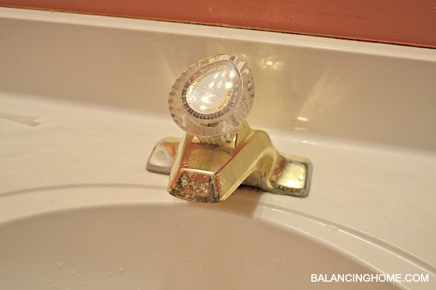older moen bathroom faucets. OLD FAUCET New Faucet  Printable Balancing Home With Megan Bray