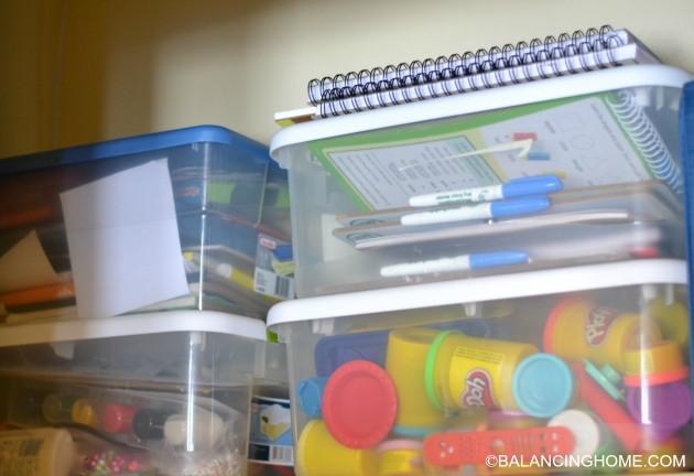 Organizing-kid-stuff-in-closet