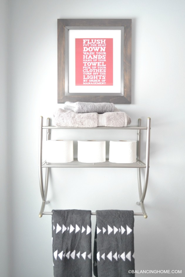 cleaning-organizing-bathroom-with-pedestal-sink-above-toilet-storage-printable-bathroom-art