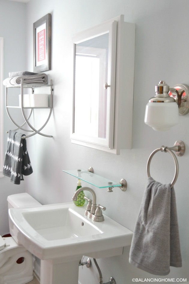 Bathroom Updates Organization Printable Balancing Home